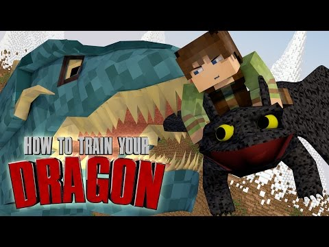"Minecraft | How To Train Your Dragon Ep 12! ""DRAGON FLYING MASTERS"""