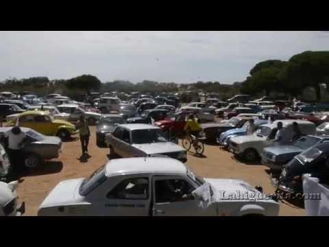 II Concentración de vehículos clásicos ciudad de Isla Cristina 2015