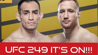 UFC 249 Announced with New Title Fight by MMA Weekly