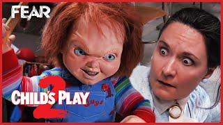 Chucky Teaches Miss Kettlewell A Lesson | Child's Play 2