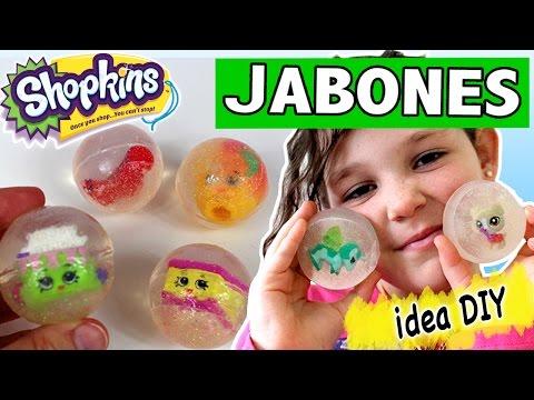 JABONES caseros SHOPKINS * Ideas DIY para REGALAR