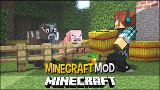 Minecraft Mod: Animais Realistas !! ( Animais Morrem de Fome) - Hungry Animals Mod