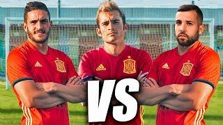 JORDI ALBA VS KOKE VS DELANTERO09 - Retos de Fútbol