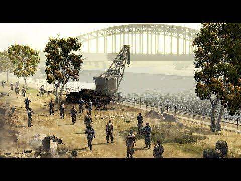 German Army Defends Major Bridge - Market Garden 1944 | Company of Heroes: Opposing Fronts Gameplay