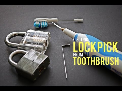 Make an Electric Lockpick from an Electric Tootbrush