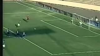 Brasileirão 2003 - Goiás 1 x 0 Cruzeiro - Estádio: Serra Dourada - Gol do Verdão: Dimba - Público: 26.277 - Imagens: Globo ...