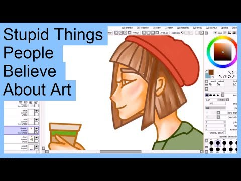 Stupid Things People Believe About Art (видео)