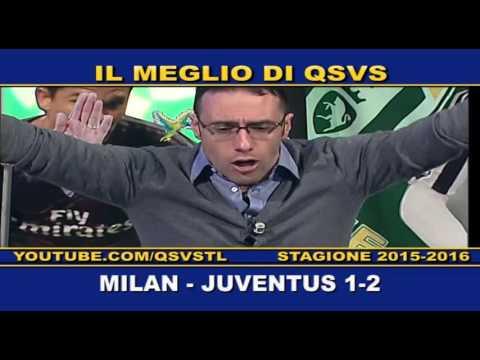 qsvs - i gol di milan - juventus 1 a 2