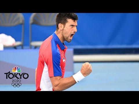 Novak Djokovic cruises into third round of men's tennis tournament | Tokyo Olympics | NBC Sports