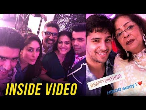 INSIDE VIDEO Karan Johar GRAND Party For Mother Hi