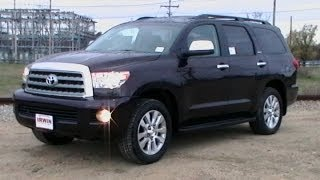 2013 TOYOTA SEQUOIA LIMITED REVIEW NAVIGATION WWW NHCARMAN COM
