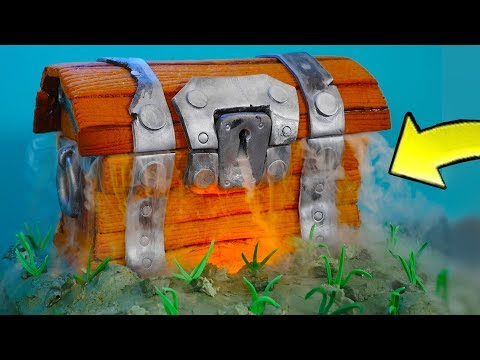 Fortnite Cake Edible Treasure Chest Battle Royale!