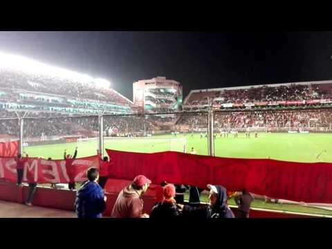 Recibimiento de Independiente vs Lanús 1-1 2017 - La Barra del Rojo - Independiente
