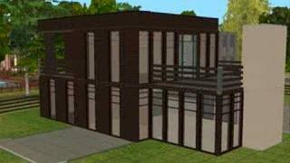 The Sims 2 Building Modern Home Time Lapse