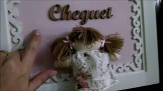 Olá meninas!!Este vídeo foi gravado no mês de abril, antes do nascimento da Maria Clara!!Espero que gostem!!Beijinhos