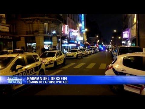 Braquage dans une bijouterie à Paris, les malfaiteurs retranchés avec un otage (fin de la prise d'otage)