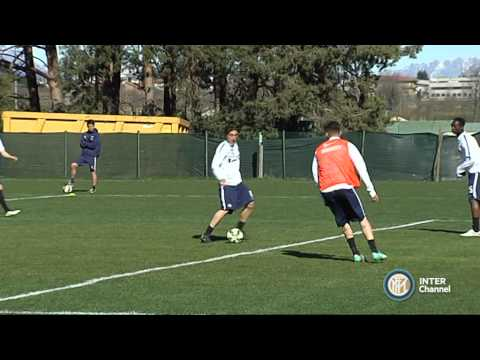 ALLENAMENTO INTER PRIMAVERA REAL AUDIO 01 04 15