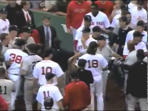 New York Yankees - Boston Red Sox Brawls