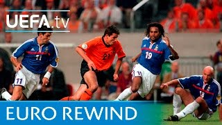 Video EURO 2000 highlights: France 2-3 Netherlands MP3, 3GP, MP4, WEBM, AVI, FLV Desember 2018