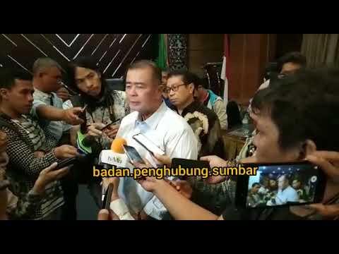 Konfrensi Pers Wakil Gubernur Sumatera Barat H.Nasrul Abit Terkait Konflik Wamena Papua