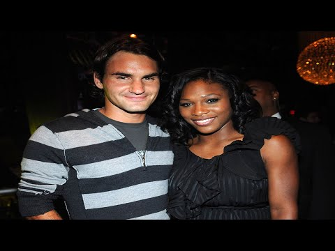 Serena Williams and Roger Federer Pay Tribute to Previous Legends