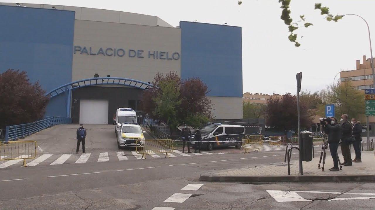 Ισπανία: Νεκροί από τον κοροναϊό μεταφέρονται σε παγοδρόμιο στη Μαδρίτη