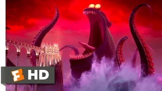 Hotel Transylvania 3 (2018) - Dracula vs the Kraken Scene (9/10) | Movieclips