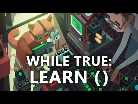 While True: learn() - Machine Learning & Visual Programming Simulator (видео)