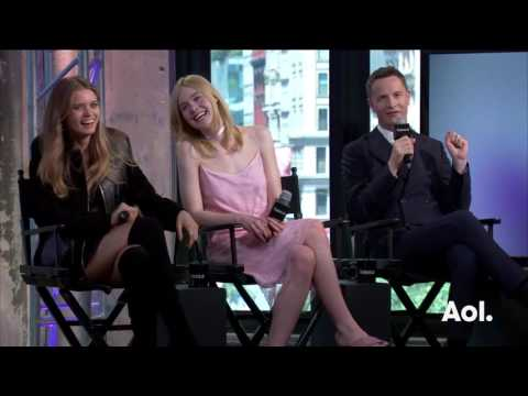 """Nicolas Winding Refn, Elle Fanning and Abbey Lee On """"The Neon Demon""""   BUILD Series"""