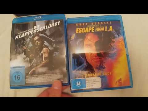 Escape From New York / L.A. BluRay Reviews (Imports to the UK)