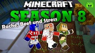 RACHE, STRESS, BEEF «» Minecraft Season 8 # 163 | HD