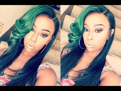 Video Hunny this green hair is SLAYING!!! | Vanessa brand LF wig- Janice | Sistawigs.com download in MP3, 3GP, MP4, WEBM, AVI, FLV January 2017