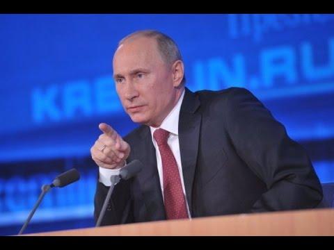 Большая пресс-конференция Президента России Владимира Путина (18 декабря 2014) полная видеоверсия (видео)