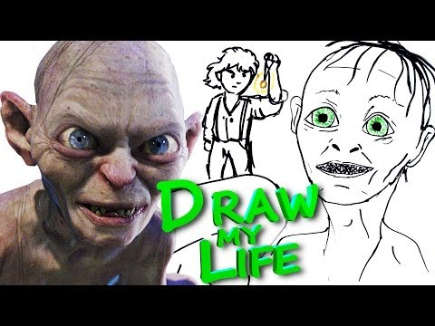 Gollum Draws About His Life