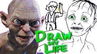 DRAW MY LIFE - Gollum