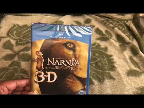 The Chronicles of Narnia: The Voyage of The Dawn Treader Blu Ray Unboxing