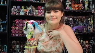 Monster High Electrified High Voltage Frankie Stein Doll Review  WookieWarrio23