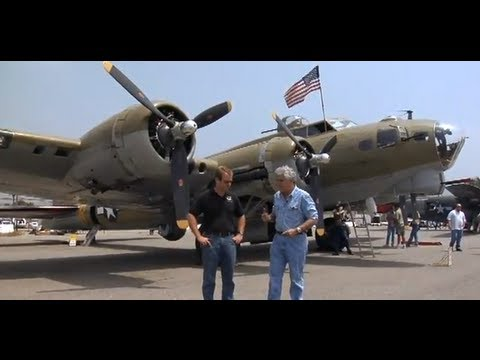 B17 - WW II's iconic four-engine heavy bomber. Subscribe NOW to Jay Leno's Garage: http://full.sc/JD4OF8 Check out the Official Jay Leno's Garage Site for more: ht...