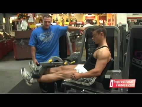 Instructional Fitness – Leg Extensions