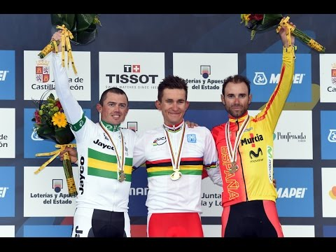 World Championships men's road race highlights (video)