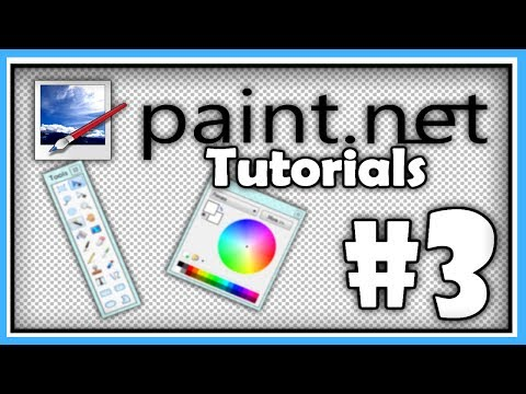 PAINT.NET TUTORIALS - Part 3 - Letter Formatting and Animation [HD]