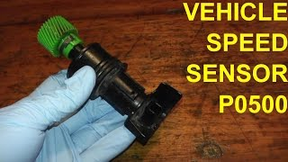 10. Vehicle Speed Sensor P0500 Replacement
