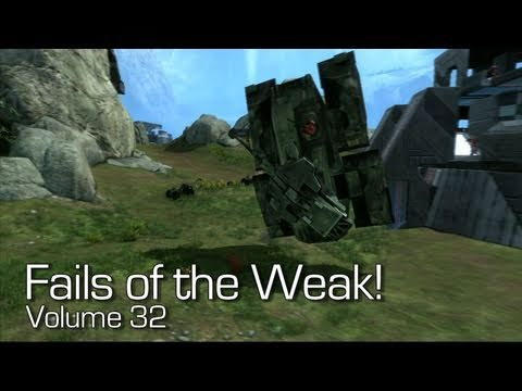Halo: Reach - Fails of the Weak Volume 32! (Funny Halo Screw ...