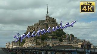 Mont Saint-Michel France  city photo : Mont Saint Michel, Normandy - France 4K Travel Channel