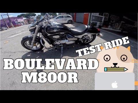 VIREI TIOZAO | BOULEVARD M800R DO PAPAI | TEST RIDE ! Danillo28