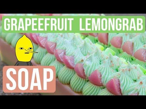 Grapefruit LEMONGRAB Soap | Royalty Soaps