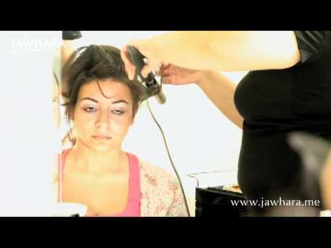 فيديو تسريحة عروس 2012