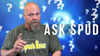 Spud answers a few questions  from customers via facebook, Instagram and Youtube!  Have a question for Spud?  Leave a comment below!Learn More About Spud Inc!http://spud-inc-straps.com