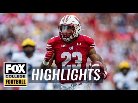 Video: Jonathan Taylor & No. 13 Wisconsin dominate No. 11 Michigan | FOX COLLEGE FOOTBALL HIGHLIGHTS