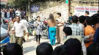Delhi girl bares frustration at ATM Queue Must Watch Video Girl Goes Topless To Exchange Her Money at ATM in IndiaGirl Goes Topless To Exchange Her Money At ATM INDIA  A Delhi Girl Strips and Protesting Against Modi after ban on 500 and 1000  ఎటిఎం ముందు  బట్టలు విప్పిన మహిళా..Image reference link :newindianexpress.com/cities/delhi/2016/nov/19/delhi-girl-bares-frustration-at-atm-queue-exposes-naked-truth-of-suffering-crowds-1540414.html